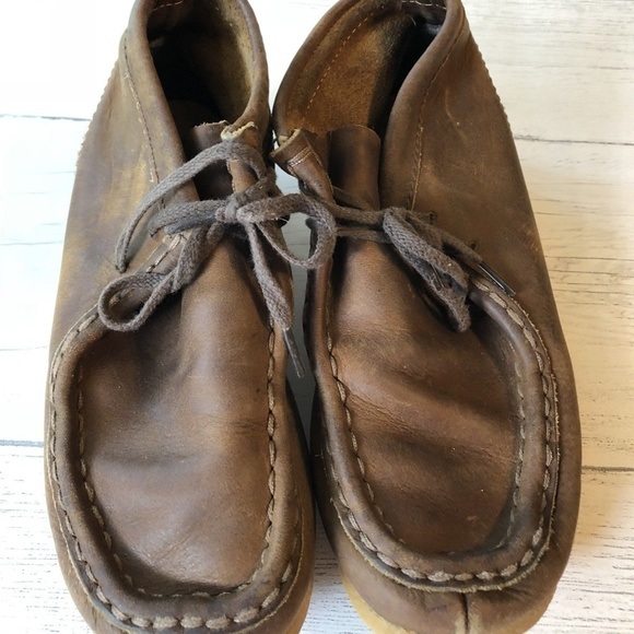 abb05edccf09c Clarks Other - Clarks Wallabee Boot Boys Size 4.5 US Brown